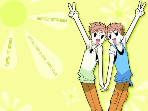 Hatori Bisco, BONES, Ouran High School Host Club, Kaoru Hitachiin, Hikaru Hitachiin Wallpaper