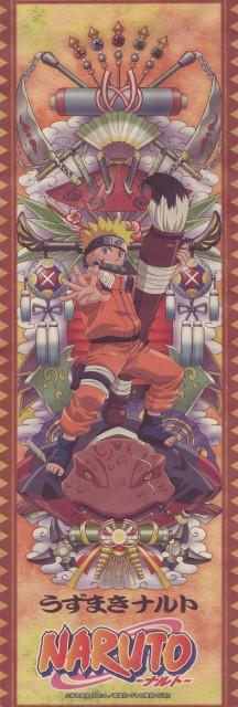 Studio Pierrot, Naruto, Gamabunta, Naruto Uzumaki, Stick Poster