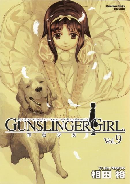 Yu Aida, Madhouse, Gunslinger Girl, Angelica (Gunslinger Girl), Manga Cover