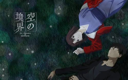 TYPE-MOON, Kara no Kyokai, Mikiya Kokutou, Shiki Ryougi Wallpaper