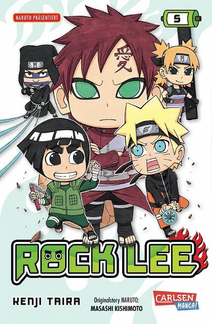 Masashi Kishimoto, Naruto, Naruto Uzumaki, Rock Lee, Gaara