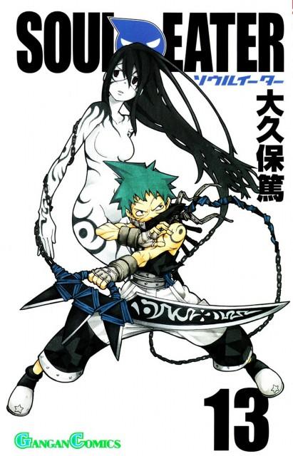 Atsushi Okubo, Soul Eater, Tsubaki Nakatsukasa, Black Star