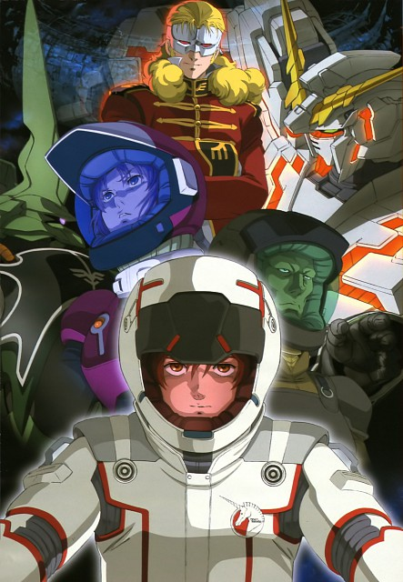 Mobile Suit Gundam - Universal Century, Mobile Suit Gundam Unicorn, Full Frontal, Marida Cruz, Banagher Links