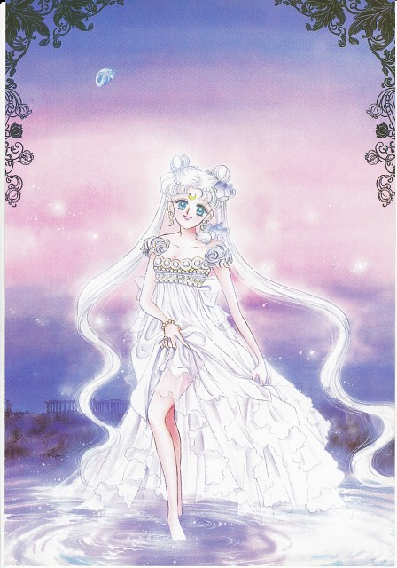 Naoko Takeuchi, Bishoujo Senshi Sailor Moon, BSSM Original Picture Collection Vol. I, Princess Serenity
