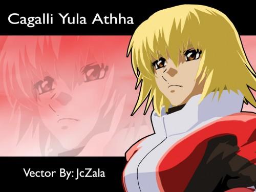 Sunrise (Studio), Mobile Suit Gundam SEED Destiny, Cagalli Yula Athha, Vector Art
