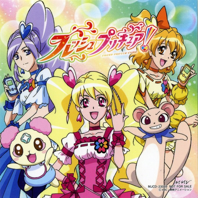 Toei Animation, Fresh Precure!, Cure Pine, Chiffon, Cure Berry