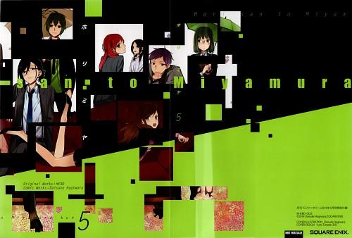 Daisuke Hagiwara, Horimiya, Izumi Miyamura, Kyouko Hori, Manga Cover