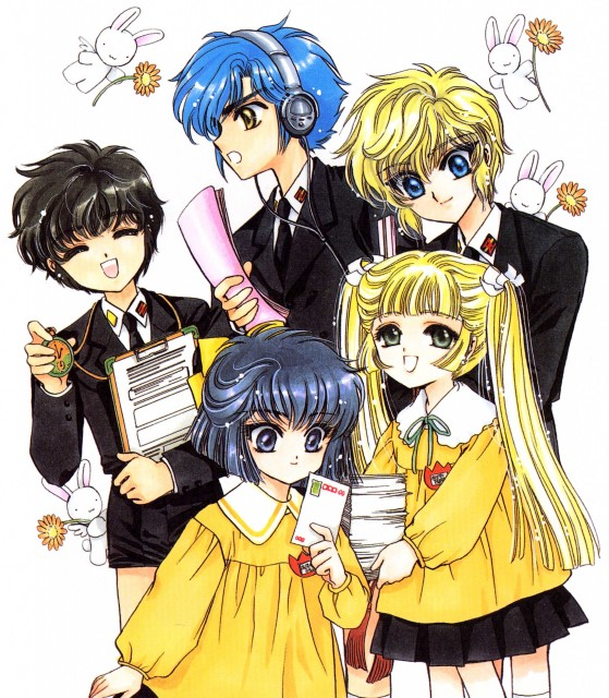 CLAMP, Studio Pierrot, CLAMP School Detectives, CLAMP South Side, Nagisa Azuya