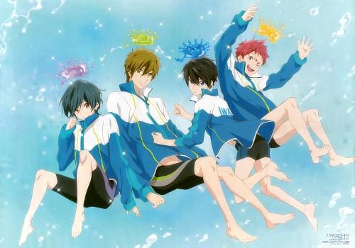 Ryouhei Muta, Kyoto Animation, Free!, Asahi Shiina, Makoto Tachibana