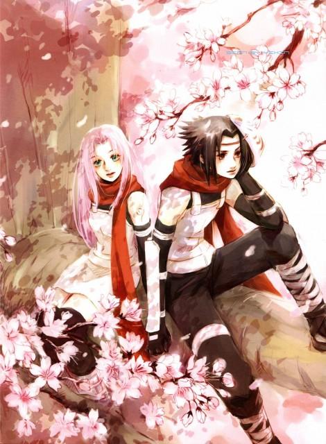 Shel, Naruto, Wind and Clover, Sasuke Uchiha, Sakura Haruno