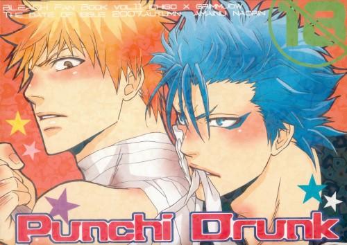 Bleach, Ichigo Kurosaki, Grimmjow Jeagerjaques, Doujinshi Cover, Doujinshi