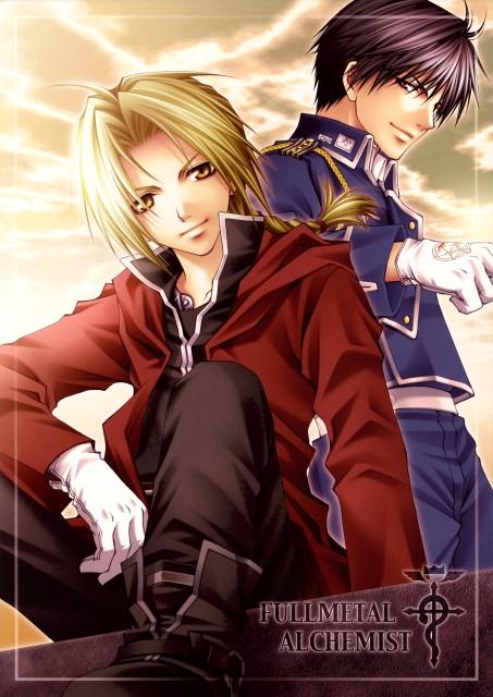 Aiki Ren, Fullmetal Alchemist, Edward Elric, Roy Mustang, Doujinshi