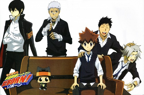 Akira Amano, Artland, Katekyo Hitman Reborn!, Ryohei Sasagawa, Reborn (Character)