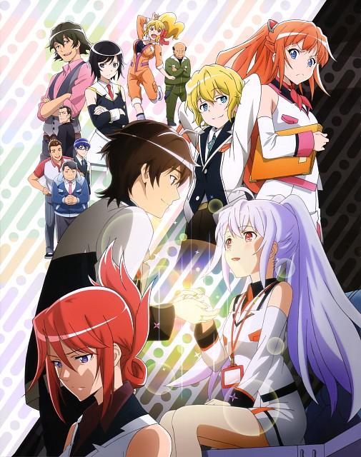 Okiura, Plastic Memories, Michiru Kinushima, Ren Doki, Constance (Plastic Memories)