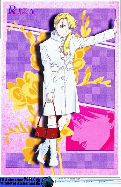 Hiromu Arakawa, BONES, Fullmetal Alchemist, Riza Hawkeye