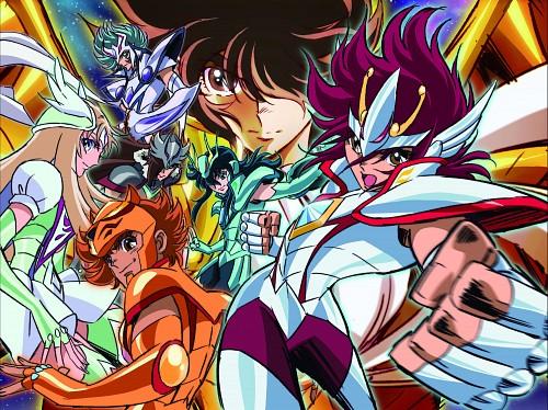 Toei Animation, Saint Seiya Omega, Wolf Haruto, Pegasus Kouga, Orion Eden
