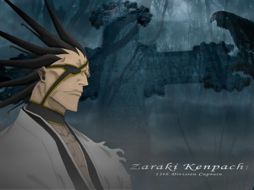 Kubo Tite, Studio Pierrot, Bleach, Kenpachi Zaraki Wallpaper