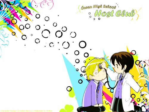Hatori Bisco, BONES, Ouran High School Host Club, Tamaki Suoh, Haruhi Fujioka Wallpaper