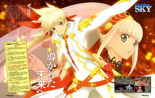 Yuka Shibata, Namco, Ufotable, Tales of Zestiria, Sorey
