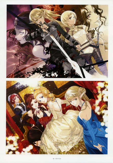 You Shiina, Dark Elf No Kuchizuke, Garnet - You Shiina's Illustrations
