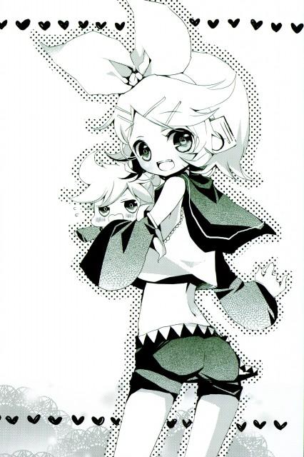 Shimeko, Landmark (Artbook), Vocaloid, Rin Kagamine, Len Kagamine