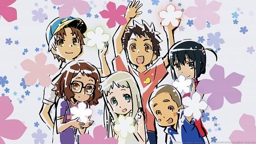 A-1 Pictures, AnoHana, Atsumu Matsuyuki, Naruko Anjou, Meiko Honma Wallpaper