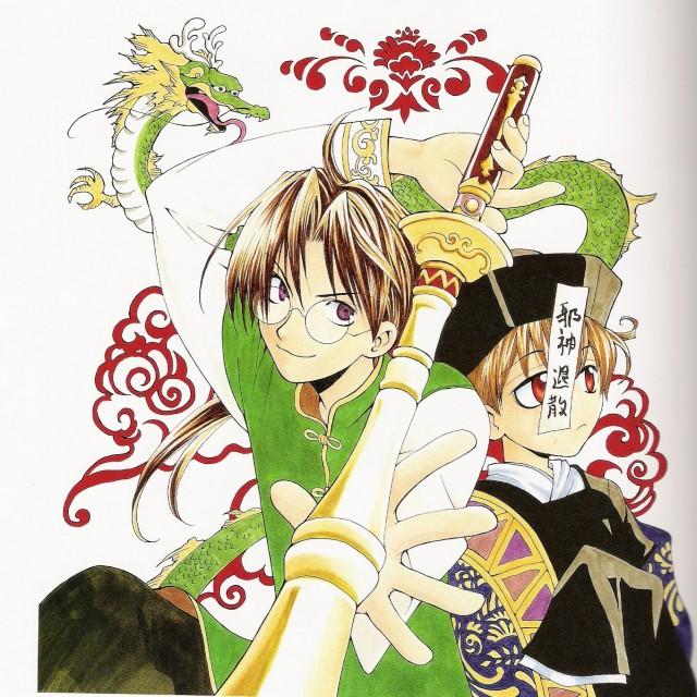 Sakura Kinoshita, Matantei Loki Ragnarok, Yamino Ryusuke, Loki (Matantei Loki Ragnarok)