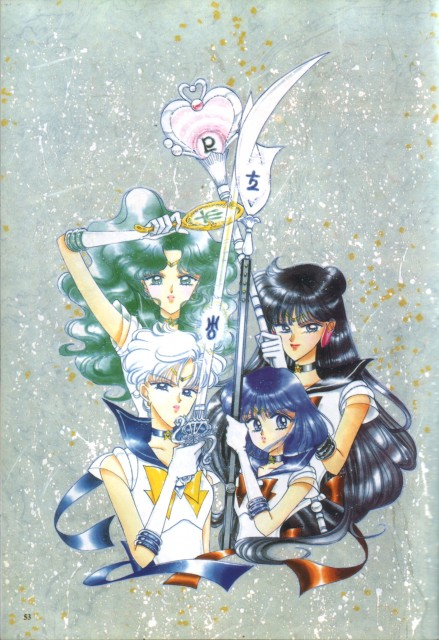 Naoko Takeuchi, Bishoujo Senshi Sailor Moon, BSSM Original Picture Collection Vol. IV, Sailor Neptune, Sailor Pluto