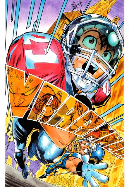 Yuusuke Murata, Studio Gallop, Eyeshield 21, Field of Colors, Sena Kobayakawa