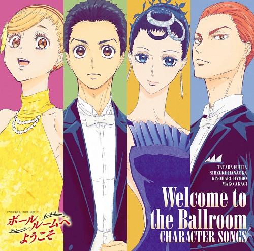Production I.G, Ballroom e Youkoso, Mako Akagi, Kiyoharu Hyoudou, Shizuku Hanaoka