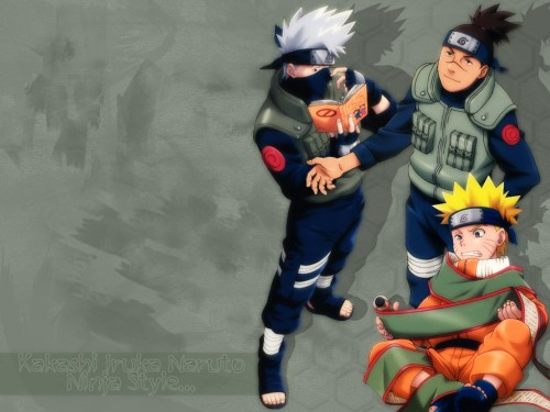 Masashi Kishimoto, Studio Pierrot, Naruto, Kakashi Hatake, Iruka Umino Wallpaper