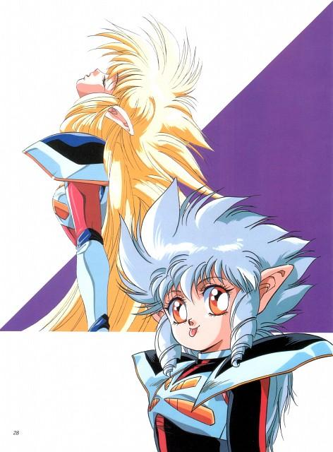Toshihiro Hirano, Anime International Company, Iczer Three, Iczer-1, Iczer-3