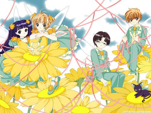 CLAMP, Madhouse, Cardcaptor Sakura, Keroberos, Eriol Hiiragizawa Wallpaper
