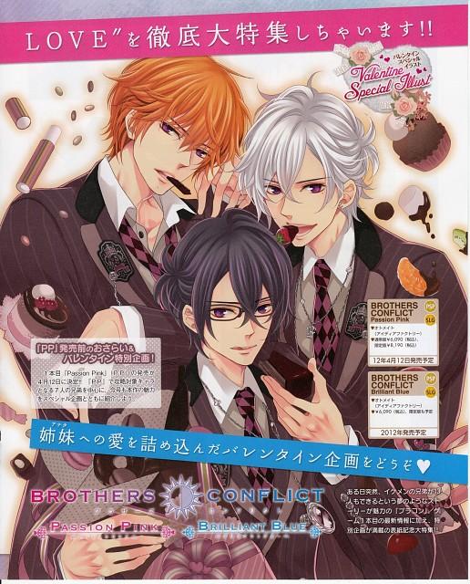 Udajo, Idea Factory, Brothers Conflict, Natsume Asahina, Tsubaki Asahina