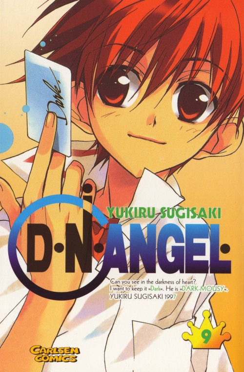 Yukiru Sugisaki, Xebec, D.N.Angel, Daisuke Niwa, Manga Cover