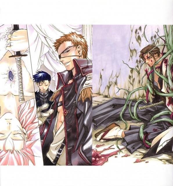 Nanae Chrono, Peacemaker Kurogane, Susumu Yamazaki, Toshizou Hijikata (Peacemaker Kurogane), Tetsunosuke Ichimura