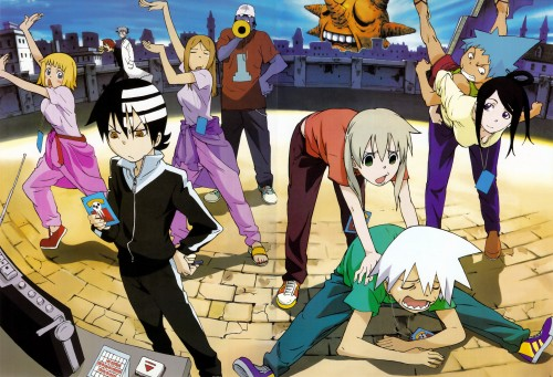 Atsushi Okubo, BONES, Soul Eater, Spirit Albarn, Death The Kid