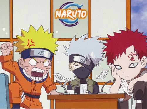 Studio Pierrot, Naruto, Kakashi Hatake, Gaara, Naruto Uzumaki