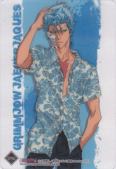 Studio Pierrot, Bleach, Grimmjow Jeagerjaques, Trading Cards