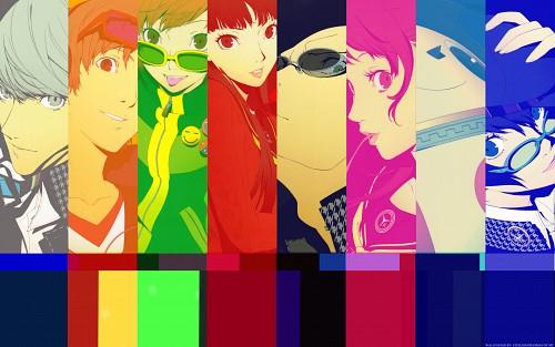 Anime International Company, Atlus, Shin Megami Tensei: Persona 4, Yukiko Amagi, Chie Satonaka Wallpaper