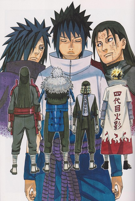 Masashi Kishimoto, Naruto, Hiruzen Sarutobi, Sasuke Uchiha, Minato Namikaze