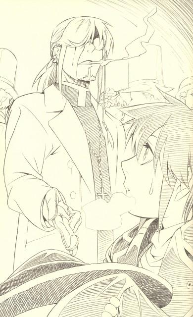 Katsura Hoshino, D Gray-Man, Allen Walker, Cross Marian