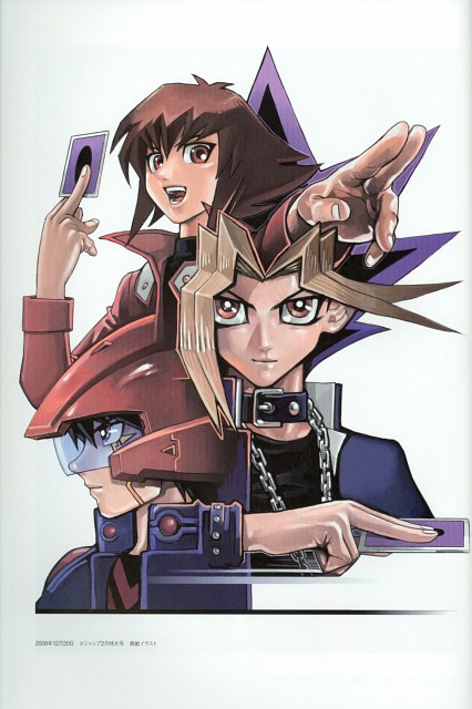 Kazuki Takahashi, Studio Gallop, Yu-Gi-Oh! GX, Yu-Gi-Oh! Duel Monsters, Yu-Gi-Oh! 5D's
