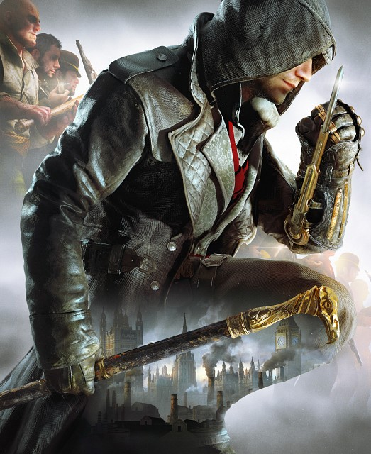 Ubisoft, Assassin's Creed Syndicate, Jacob Frye, Video Game Cover