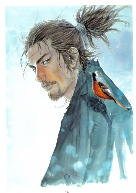 Takehiko Inoue, Vagabond, Art of Vagabond: Water, Musashi Miyamoto (Vagabond)