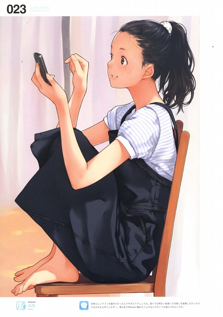 Kamo, Lovely iPhone Illustrations