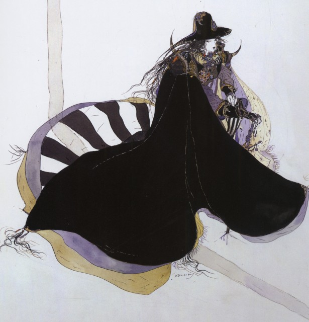 Yoshitaka Amano, Vampire Hunter D, Coffin: The Art of Vampire Hunter D, D (Vampire Hunter D)