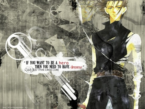 Final Fantasy VII, Final Fantasy VII: Crisis Core, Zack Fair Wallpaper