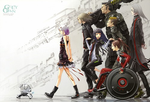 redjuice, Production I.G, GUILTY CROWN, GUILTY CROWN - redjuice's Notebook, Guilty Crown Visual Collection