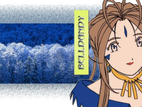 Kousuke Fujishima, Ah! Megami-sama, Belldandy Wallpaper